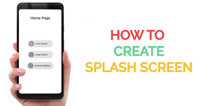 How to create Splash Screens in Flutter – FlutterDevs