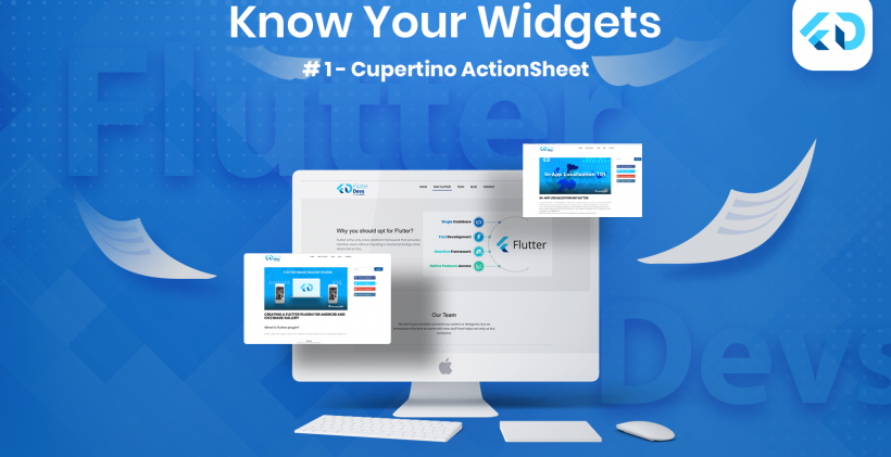 Know Your Widgets: #1 Cupertino (iOS-style) ActionSheet in Flutter