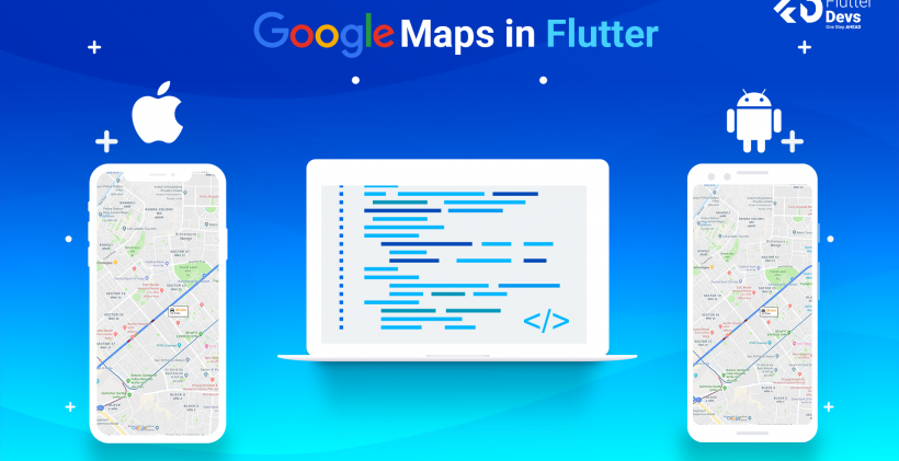 Google Maps in Flutter – FlutterDevs